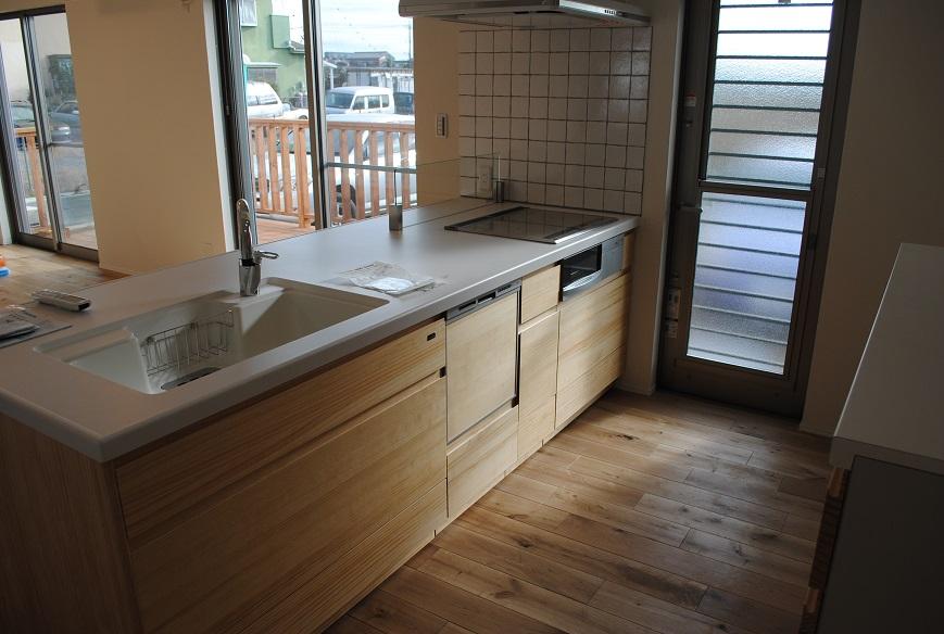 M様邸 1640 キッチン