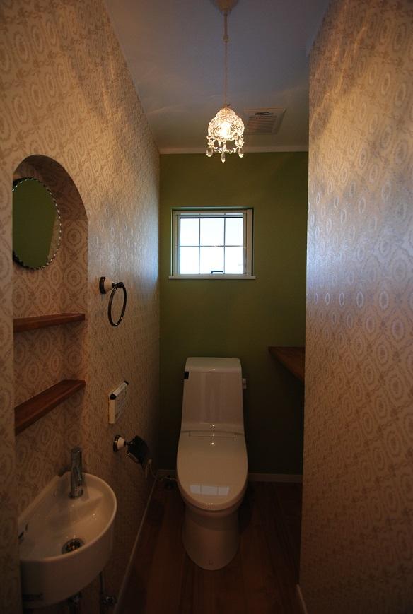 H様邸 1665 トイレ