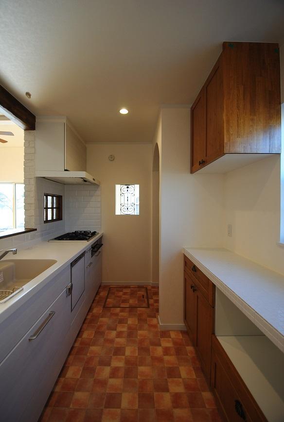 H様邸 1670 キッチン