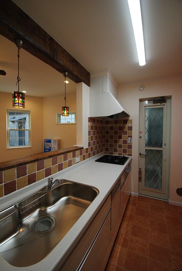 T様邸 1791 キッチン