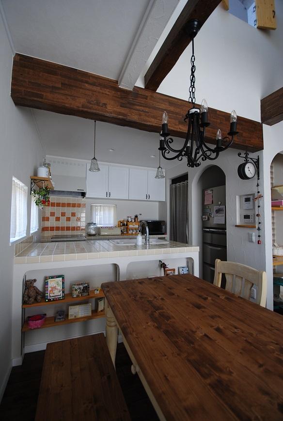 N様邸 1384 キッチン