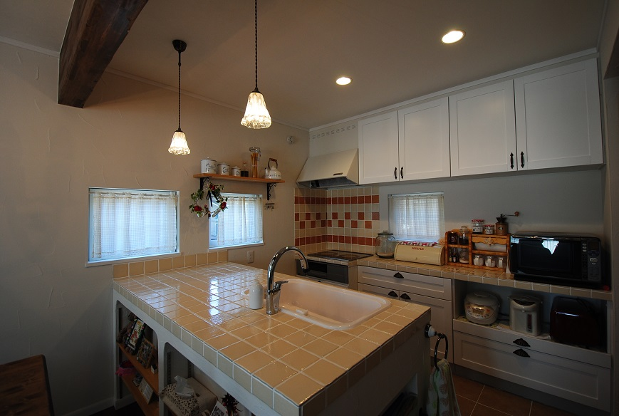 N様邸 1386 キッチン