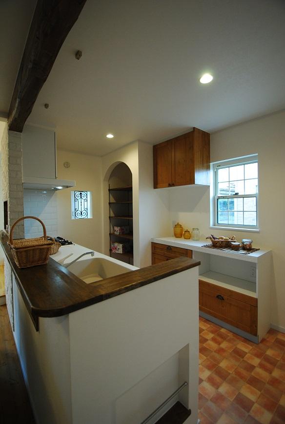H様邸 1672 キッチン