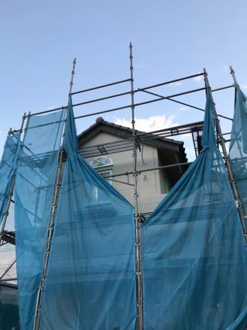 さいたま市浦和区Y様邸 施工中の様子