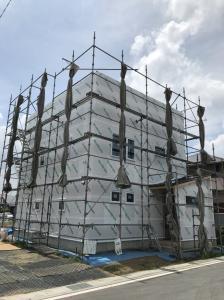 東松山市S様邸 施工中の様子