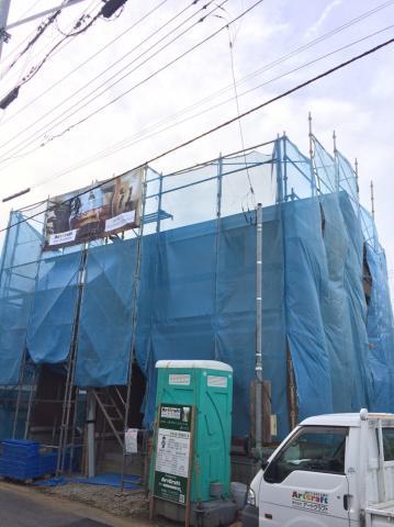 さいたま市西区M様邸 施工中の様子