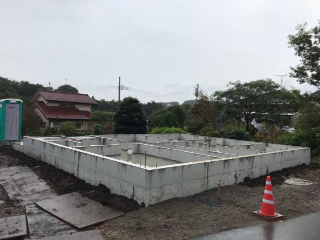 所沢市A様邸 施工中の様子