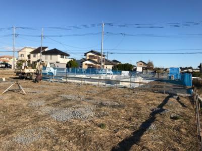 加須市OTS様邸 施工中の様子