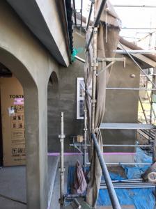 加須市OTS邸 施工中の様子