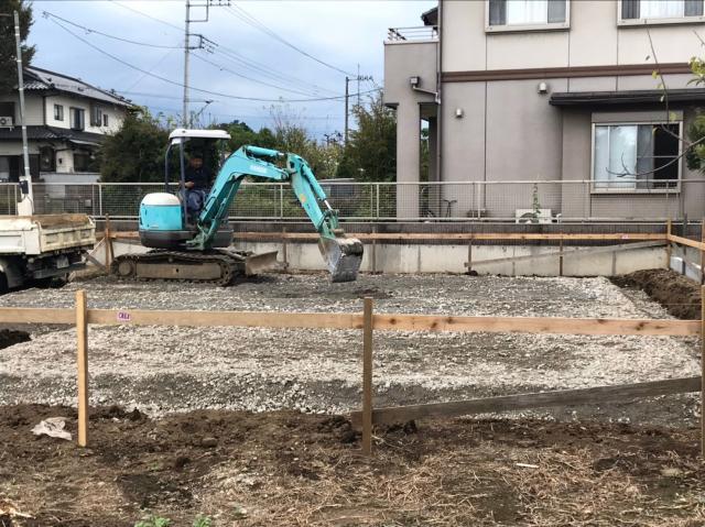 東松山OW様邸 施工中の様子